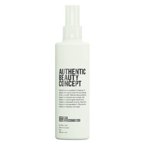 Authentic Beauty Concept Amplify vegan sprej regenerator za tanku kosu