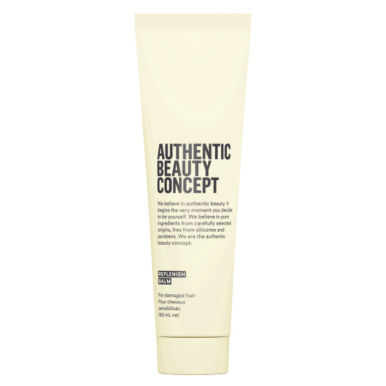 authentic beauty concept vegan balzam za ostecenu kosu