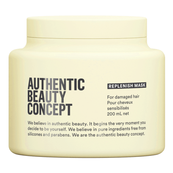authentic beauty concept vegan maska za ostecenu kosu